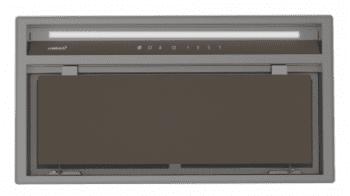 Grupo Filtrante CATA GCX 53 SD Inox y Cristal Gris | de 53cm | 750m3/h | 4 velocidades | Clase A - 1
