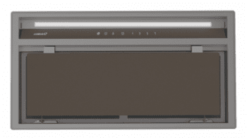 Grupo Filtrante CATA GCX 83 SD Inox y Cristal Gris | de 83cm | 750m3/h | 4 velocidades | Clase A