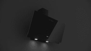 Campana decorativa vertical Teka DVN 97050 TTC BK  Negra   90cm   Gama Easy   485 m³/h   Clase A - 6