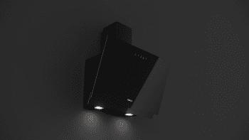 Campana decorativa vertical Teka DVN 67050 TTC BK (ref. 112950010) | Negra | 60cm | Gama Easy | 485 m³/h | Clase A - 5
