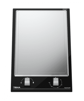 Placa TeppanYaki Teka YZC 32600 XFL (ref. 112660000) Cristal Negro | VarioPro Series | 6 niveles de potencia | 2 zonas de cocción