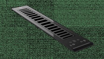 Campana Sobre Encimera Teka FIH 16760 TOS (ref. 113160000)  Cristal Negro   Modular   VarioPro Series   Aspiración Lateral   FreshAir   600 m3/h   Clase A+