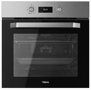 Horno Multifunción Teka HCB 6645 Acero Inoxidable | 60 cm | Limpieza Hydroclean | SurroundTemp – 9 funciones de cocinado | Clase A+