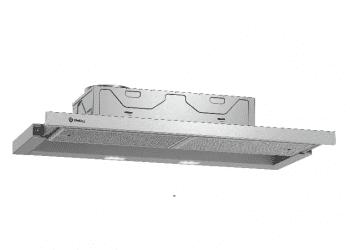 Campana telescópica extraíble Balay 3BT294MX Inox   90cm    383 m³/h   Clase C - 1