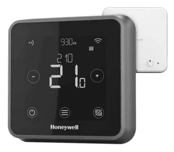 Honeywell CronoTermostato Wifi Lyric T6R Vía Radio Color Negro | Termostato Programable y con Geolocalización | Conexión Vía Radio - 3