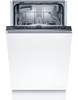 Lavavajillas Integrable Bosch SRV2HKX41E de 45cm   9 cubiertos   4 programas   AquaStop   Motor EcoSilence   Serie 2   Clase E   Stock