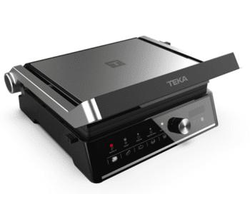 Parrilla Grill Teka T-GRILL BK SS   Sobremesa   5 programas automáticos   Apertura 180º   Potencia 2000W
