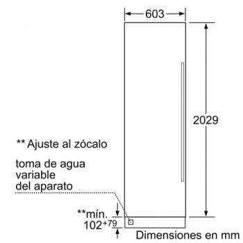 Siemens FI24NP31 Congelador Integrable de 212.5 x 60.3 cm iQ700   A+ - 4