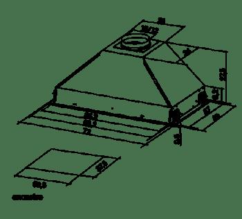 Grupo filtrante MEPAMSA SMART PRO 72 Inoxidable, de 72 cm a 770 m³/h   Clase C - 2