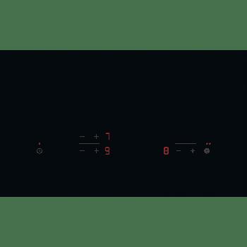 Placa Vitrocerámica Electrolux EHF6232IOK de 60 cm con 3 Zonas de cocción Max 27 cm - 2