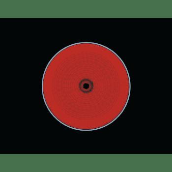 Placa Vitrocerámica Electrolux EHF6232IOK de 60 cm con 3 Zonas de cocción Max 27 cm - 3