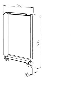 SMEG C30CX/1 Tapa Inoxidable para Encimeras SMEG de 30 cm - 2