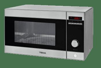 Microondas Teka MWE 230 G Inoxidable de 23 L con 5 niveles de potencia a 800 W + Grill a 100 W | Stock