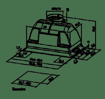 MEPAMSA SMART PLUS H 70 INOX GRUPO FILTRANTE 70CM 580M3/H - 2