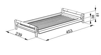 SMEG BB3679 Grill en Hierro colado para modelos 60, 70 y 90 cm - 4