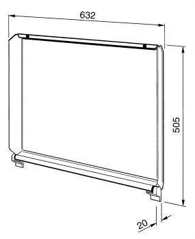 SMEG C70CX/1 Tapa Inoxidable para Encimeras SMEG de 70 cm - 2