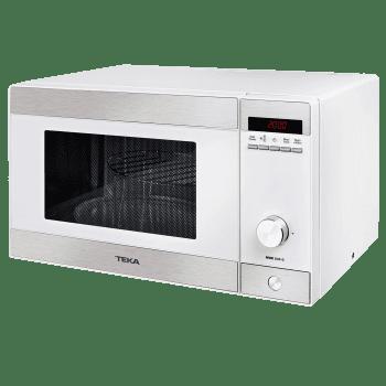 Microondas Teka MWE 230 G Blanco de 23 L con 5 niveles de potencia a 800 W + Grill a 1000 W | Stock
