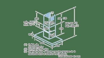 BALAY 3BC864XM CAMPANA INOX 60CM 680M3/H - 5