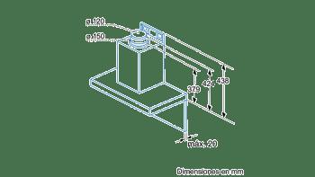 BALAY 3BC864XM CAMPANA INOX 60CM 680M3/H - 6