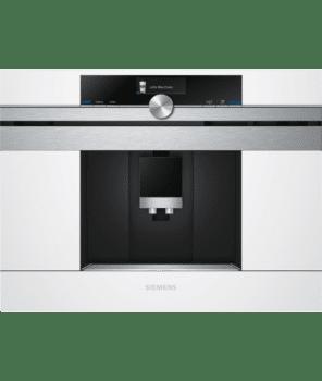 Siemens CT636LEW1 Cafetera 100% Integrable Cristal Blanco | Promocionada