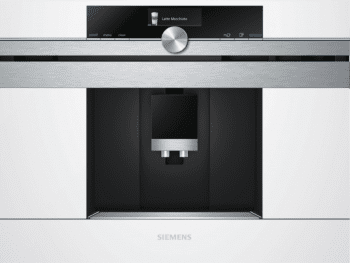 Siemens CT636LEW1 Cafetera 100% Integrable Cristal Blanco | Promocionada - 1