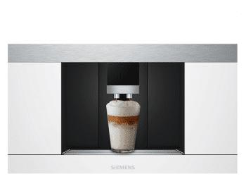 Siemens CT636LEW1 Cafetera 100% Integrable Cristal Blanco | Promocionada - 2
