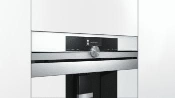 Siemens CT636LEW1 Cafetera 100% Integrable Cristal Blanco | Promocionada - 4