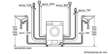 Siemens WK14D541EE Lavadora Secadora integrable de 7/4kg | 1400 rpm B | Promocionada - 2