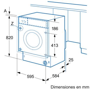 Siemens WK14D541EE Lavadora Secadora integrable de 7/4kg | 1400 rpm B | Promocionada - 3