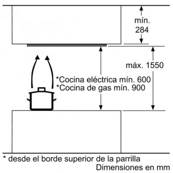 Siemens LF959RA51 Campana techo Inoxidable 90 x 90 cm | A - 5