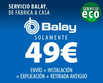 BALAY 3TS873XA LAVADORA ACERO MATE 7KG 1000RPM A+++ - 2