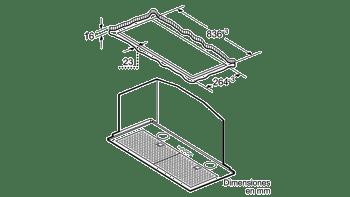 Grupo Filtrante Balay 3BF859XP de Inoxidable | 86cm para mueble de 90cm | 790 m³/h | Clase C - 4