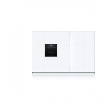 Horno Bosch HBG675BB1 Negro de 60 cm Multifunción Pirolítico con Calentamiento 4D Recetas Gourmet y Clase A+ | Serie 8 - 5
