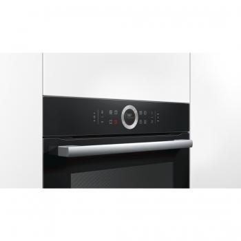 Horno Bosch HBG675BB1 Negro de 60 cm Multifunción Pirolítico con Calentamiento 4D Recetas Gourmet y Clase A+ | Serie 8 - 6