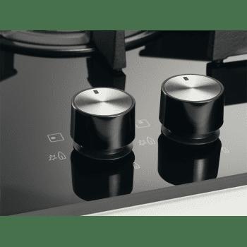 Placa de Gas Electrolux EGT6633NOK de 60 cm con 3 Quemadores, 1 Wok, 1 Ultrarrápido, DirectFlame - 10