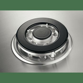 Placa de Gas Electrolux EGH6333BOX | Inox | 60 cm | 3 Quemadores | 1 Wok | 1 Ultrarrápido | Seguridad Termopar - 3