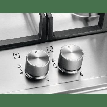 Placa de Gas Electrolux EGH6333BOX | Inox | 60 cm | 3 Quemadores | 1 Wok | 1 Ultrarrápido | Seguridad Termopar - 6