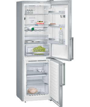 SIEMENS KG36NHI32 COMBI INOX NO FROST 187x60CM A++ HOMECONNECT