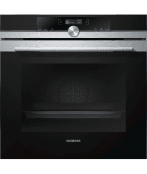 Horno Siemens HB673GBS1 Pirolítico Inoxidable de 60 cm  | Recetas programadas cookControl | Clase A+ | iQ700
