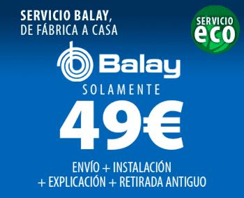 BALAY 3VN303IA LAVAVAJILLAS INOX 45CM 9 SERVICIOS 48dB A+ - 2