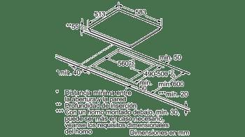 BALAY 3EB865XR INDUCCION 3 ZONAS MAX 28CM MARCO INOX - 5