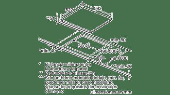 BALAY 3EB864ER INDUCCION 3 ZONAS MAX 24CM CRISTAL - 5