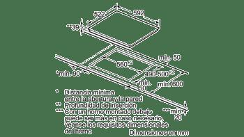 BALAY 3EB765LQ VITROCERAMICA 3 ZONAS MAX 28CM - 2