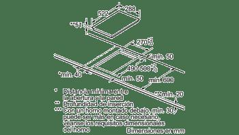 BALAY 3EB939LQ FLEXINDUCCION 1 ZONA 30CM BISELADA - 4
