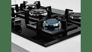 Placa de Gas Balay 3ETG676HB Cristal Negro | 75cm | 4 Fuegos y 1 Wok de doble llama | Gas Stop | Autoencendido integrado - 2