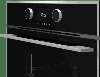 Horno Teka HLB 860 P Pirolítico en Cristal Negro con 5 alturas de cocción | Asistente de cocinado con 20 recetas | A+ - 2