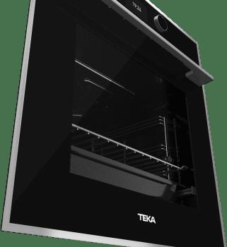 Horno Teka HLB 860 P Pirolítico en Cristal Negro con 5 alturas de cocción | Asistente de cocinado con 20 recetas | A+ - 3