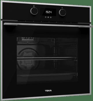 Horno Teka HLB 840 P Pirolítico de 60 cm en Cristal Negro con 8 funciones a 5 alturas de cocción con Calentamiento Rápido   Clase A+ - 4