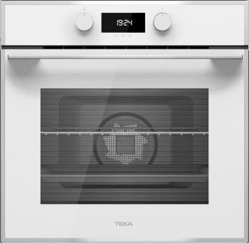 Horno Teka HLB 840 de 60 A+ en Cristal Blanco con 9 funciones de cocción a 5 alturas