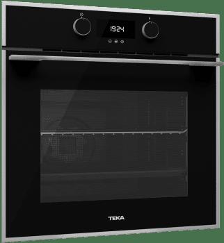 Horno Teka HLB 830 de 60 cm A+ en Cristal Negro con 6 funciones de cocción a 5 alturas - 2